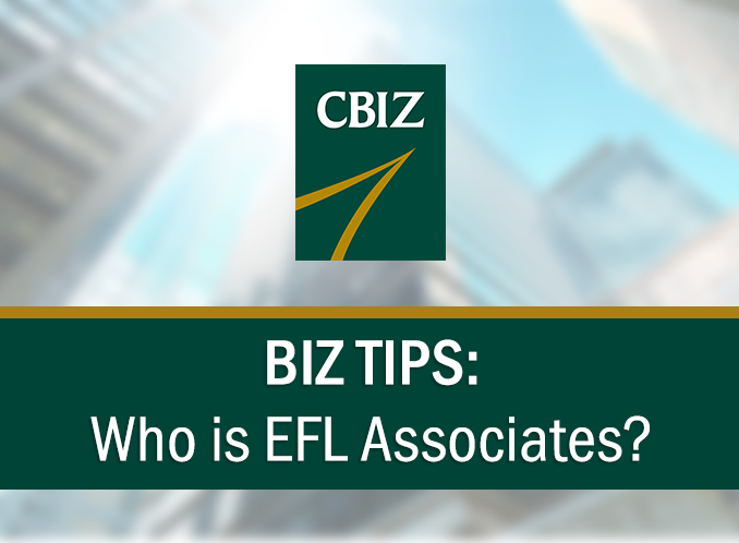 BizTips: Who is EFL Associates??