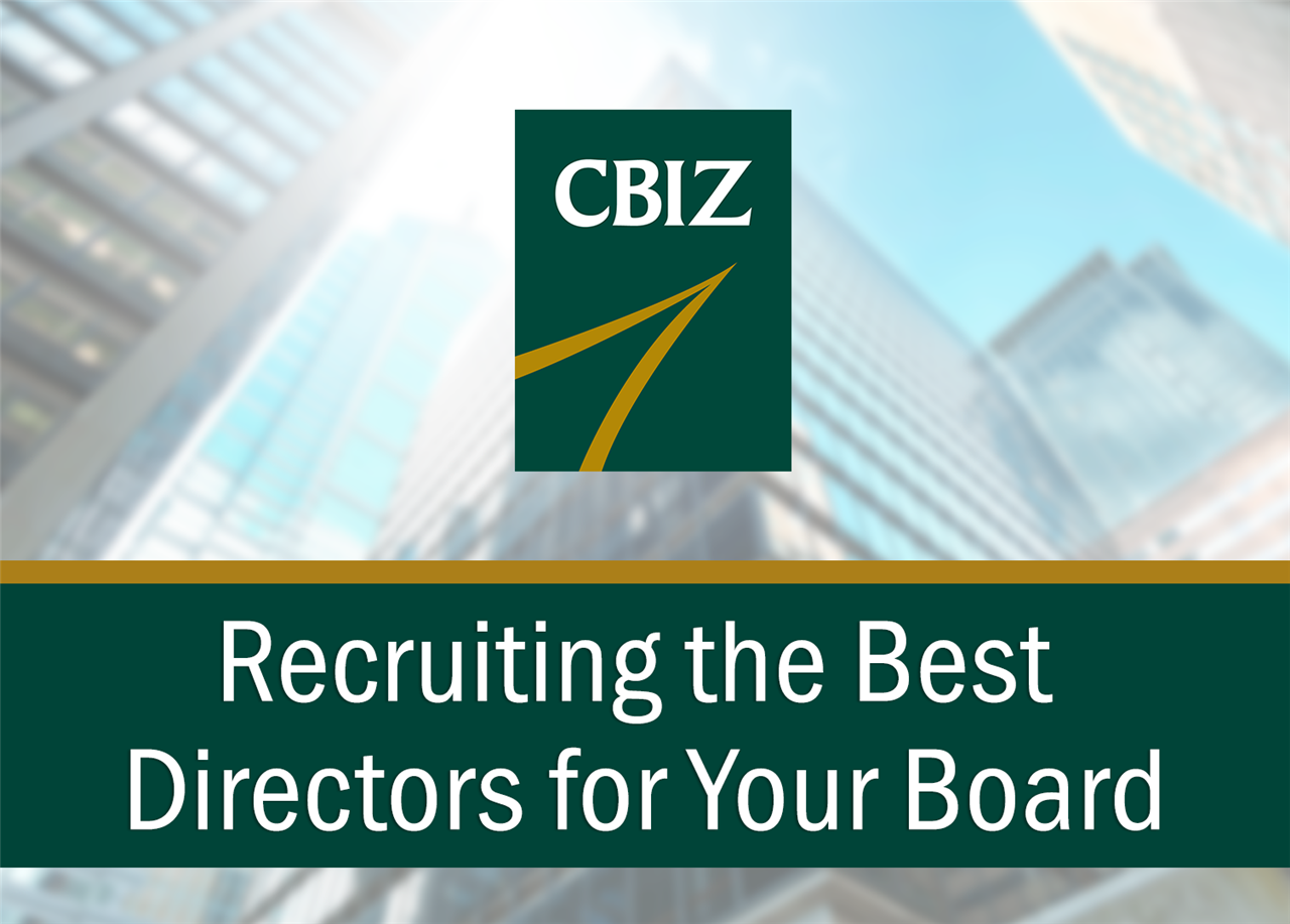 Biz Tips: Board of Directors Search